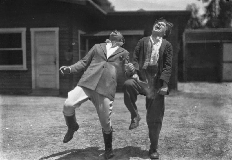 Charlie Chaplin and Douglas Fairbanks - 1920s