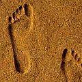 Je suis là où sont mes pieds