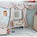 Chambre miniature shabby chic