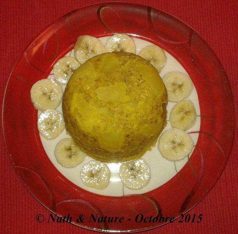 Bowl cake pomme-vanille - 1