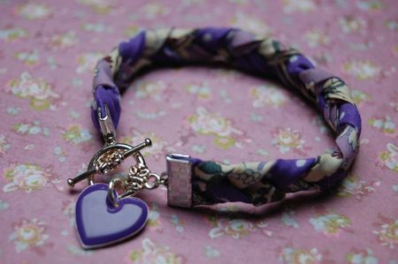 Bracelet Trinity - Violet 1