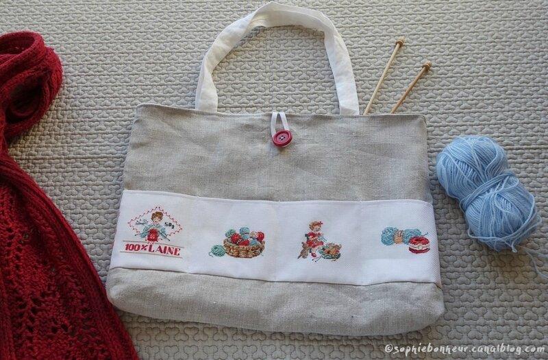 sac tricot accessoires