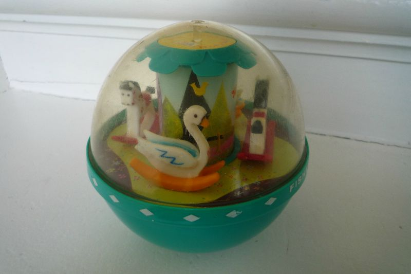 Roly Poly Chime Ball Fisher Price-1972