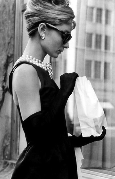 chic Audrey Hepburn Breakfast at Tiffany's