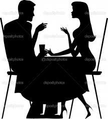couple à table 2