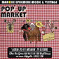 Pop up market lyon : 20 et 21 octobre 2012 !
