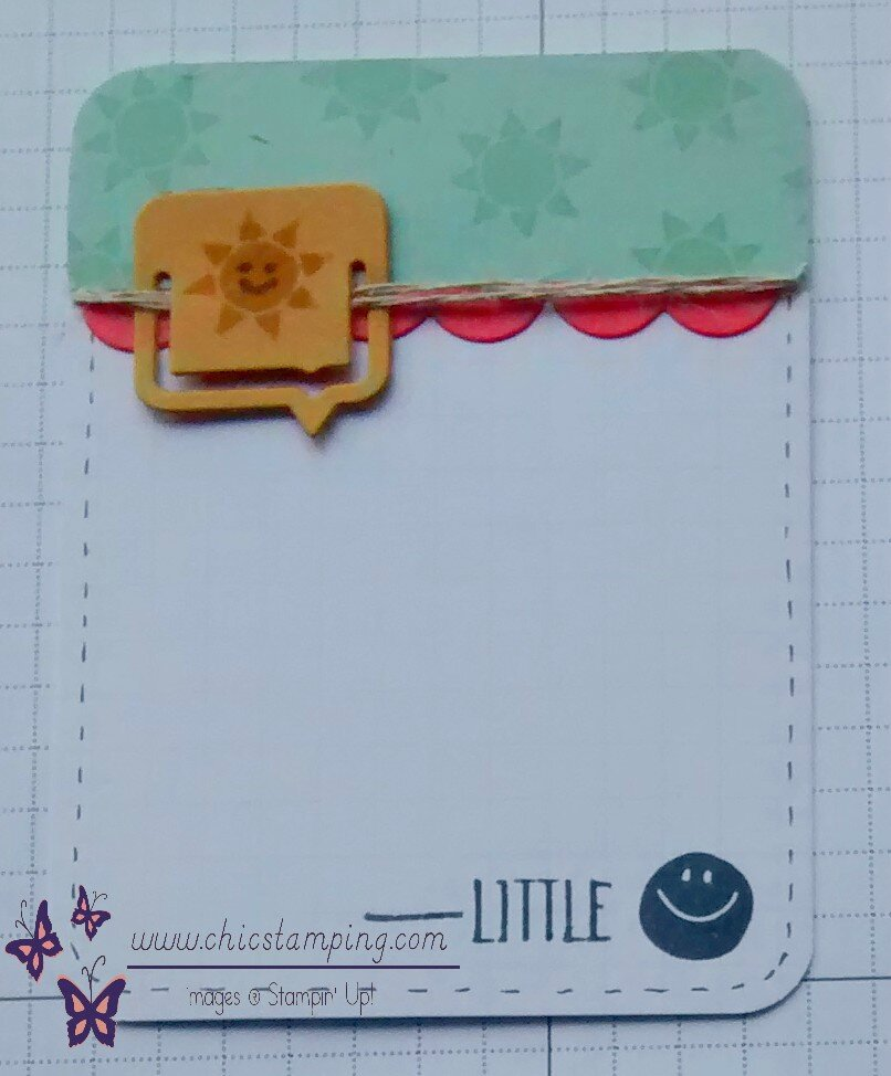 DIY project life card series paper clips 4