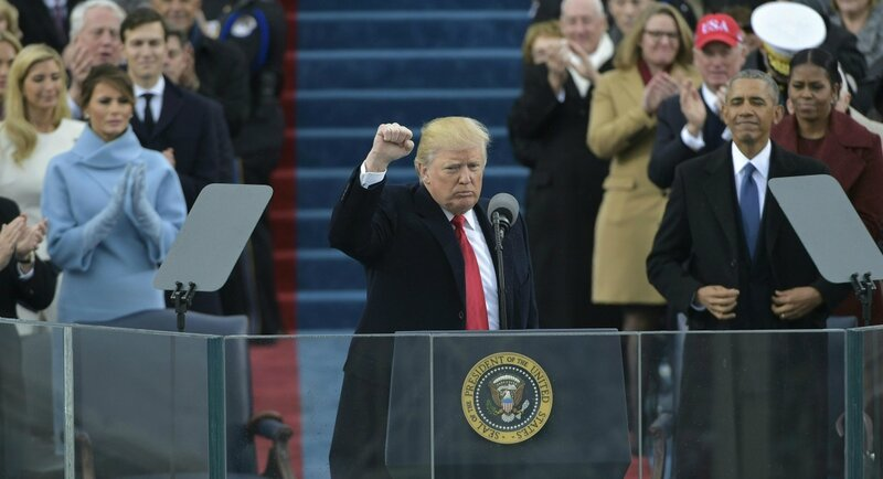 Donald Trump inauguration speech 2