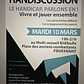 Handiscussion à bidibule ce 10 mars 2015