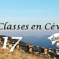 Classes de découverte 2017