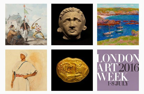Exhibitions take centre stage in the galleries of Mayfair and St. James's from 1 to 8 July