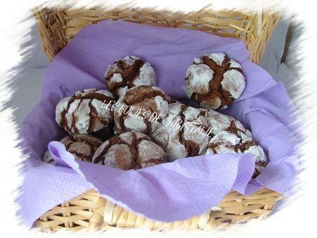 Biscuits craquelés au chocolat 12