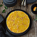 Orange upside down cake #vegan