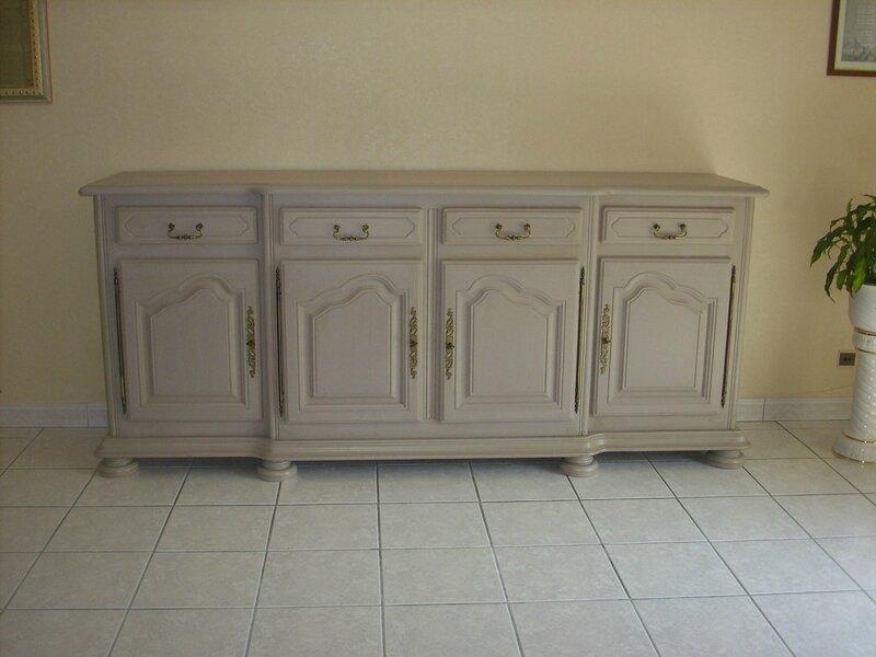 Atelier de relooking et customisation de meubles situé à Rosières aux Salines -> Modele De Couleur Meuble Ceruse