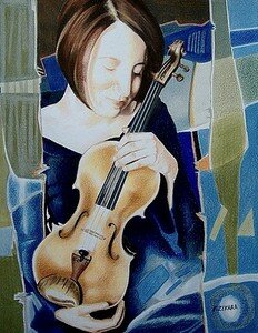 Caresse_au_violon__46x36__cr_de_couleur