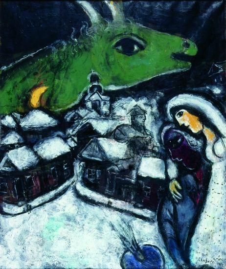 chagall la_nuit_verte