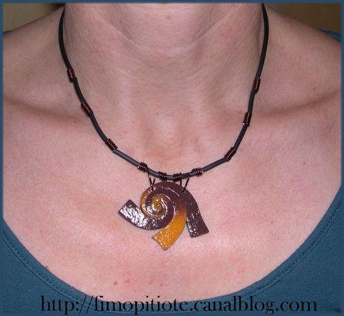 Bijoux pate fimo collier bracelet boucles d oreilles (5)