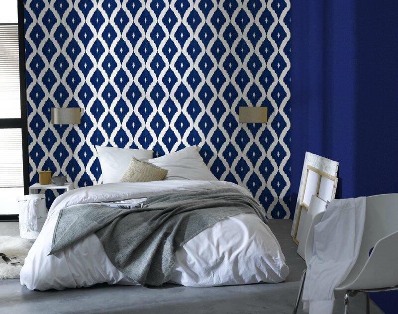 10298848-papier-peint-losange-indigo-4-murs