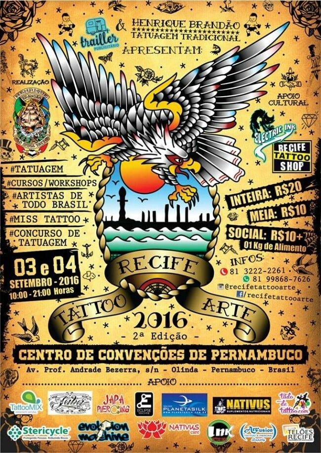 Recife Tattoo Art 03-04 Septembre 2016