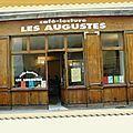 Objet: CAFE LECTURE LES AUGUSTES: nouveau site internet et nouvelle adresse mail !