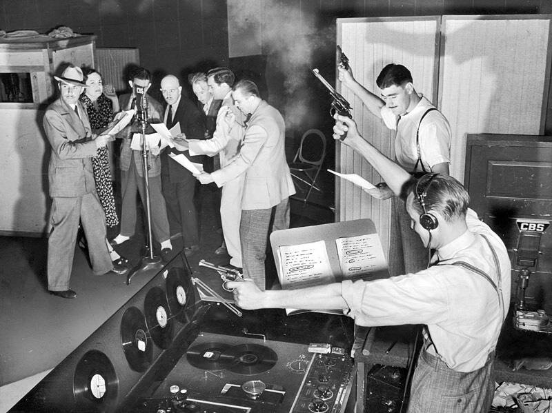 Gang Busters, true crime radio show, New York, 1930s