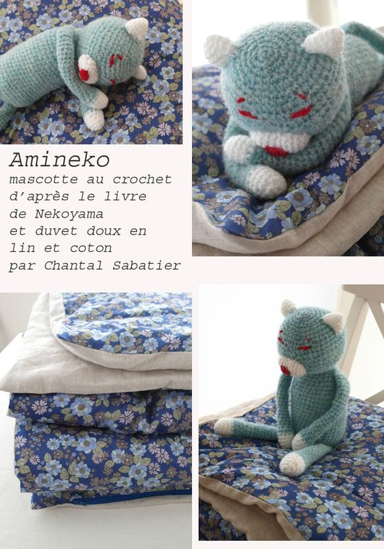 Amineko de Nekoyama et duvet Chantal Sabatier copie