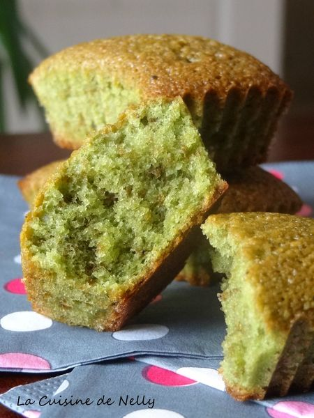 financiers matcha 1