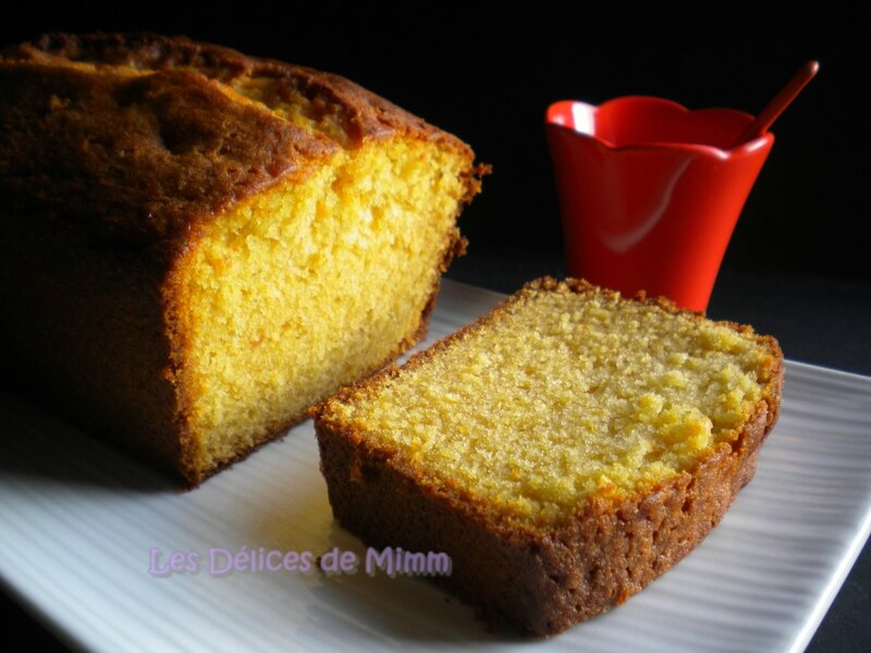 Cake à la marmelade d'oranges (marmelade cake) 2