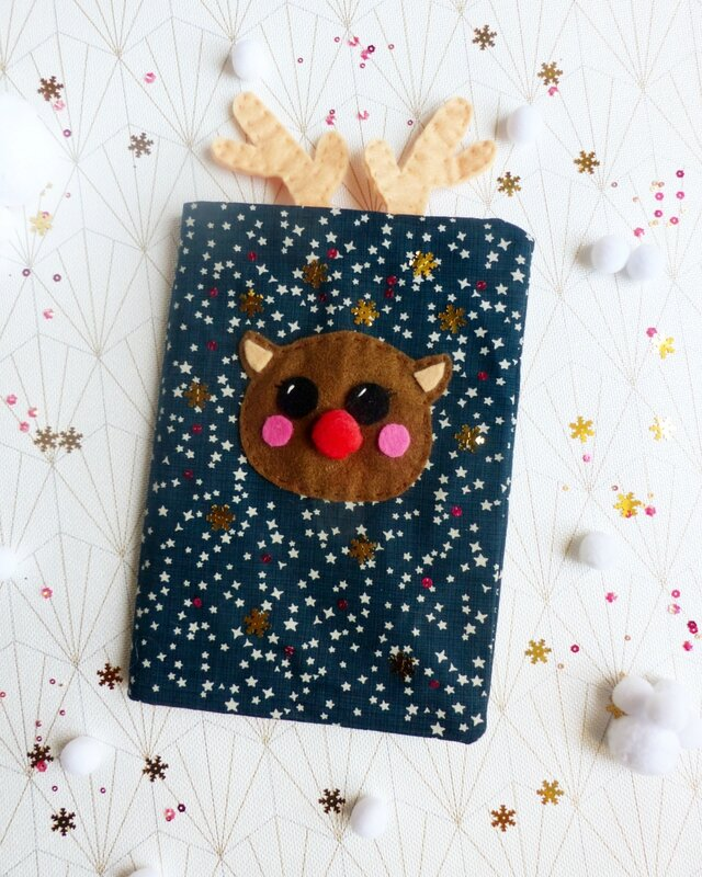 carnet-noël-renne-paillettes-sequins-super-happy-youpi-time