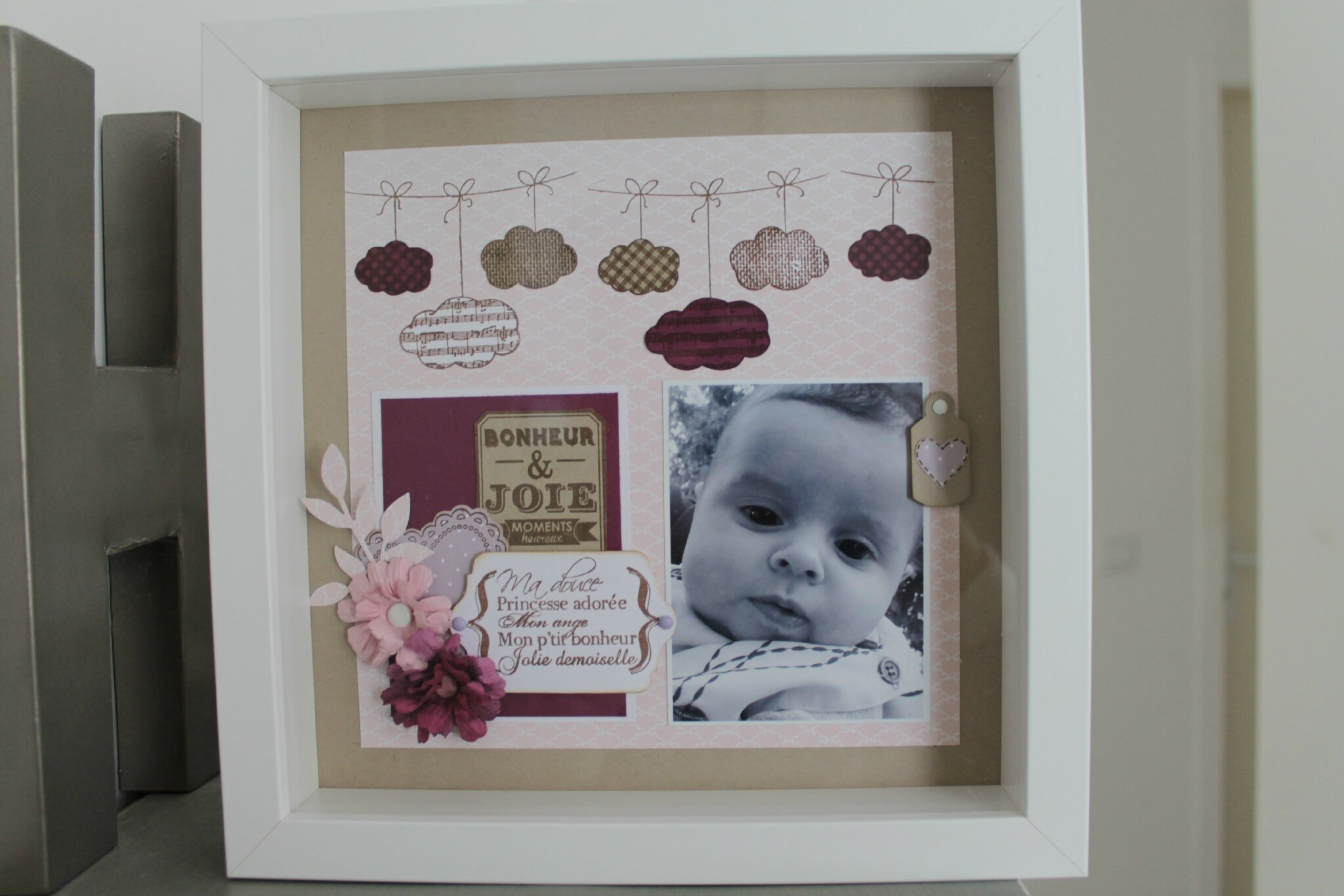 Chambre Bebe Garcon Winnie L Ourson : Scrapbooking cadre photo bebe