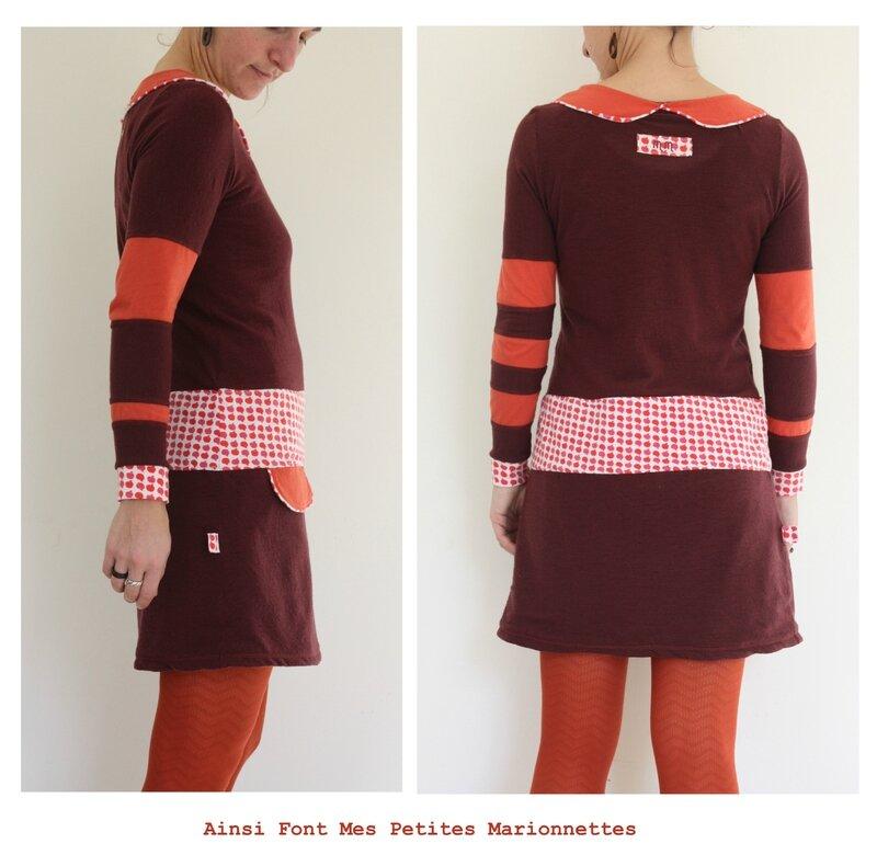 robe pommes de laine 7