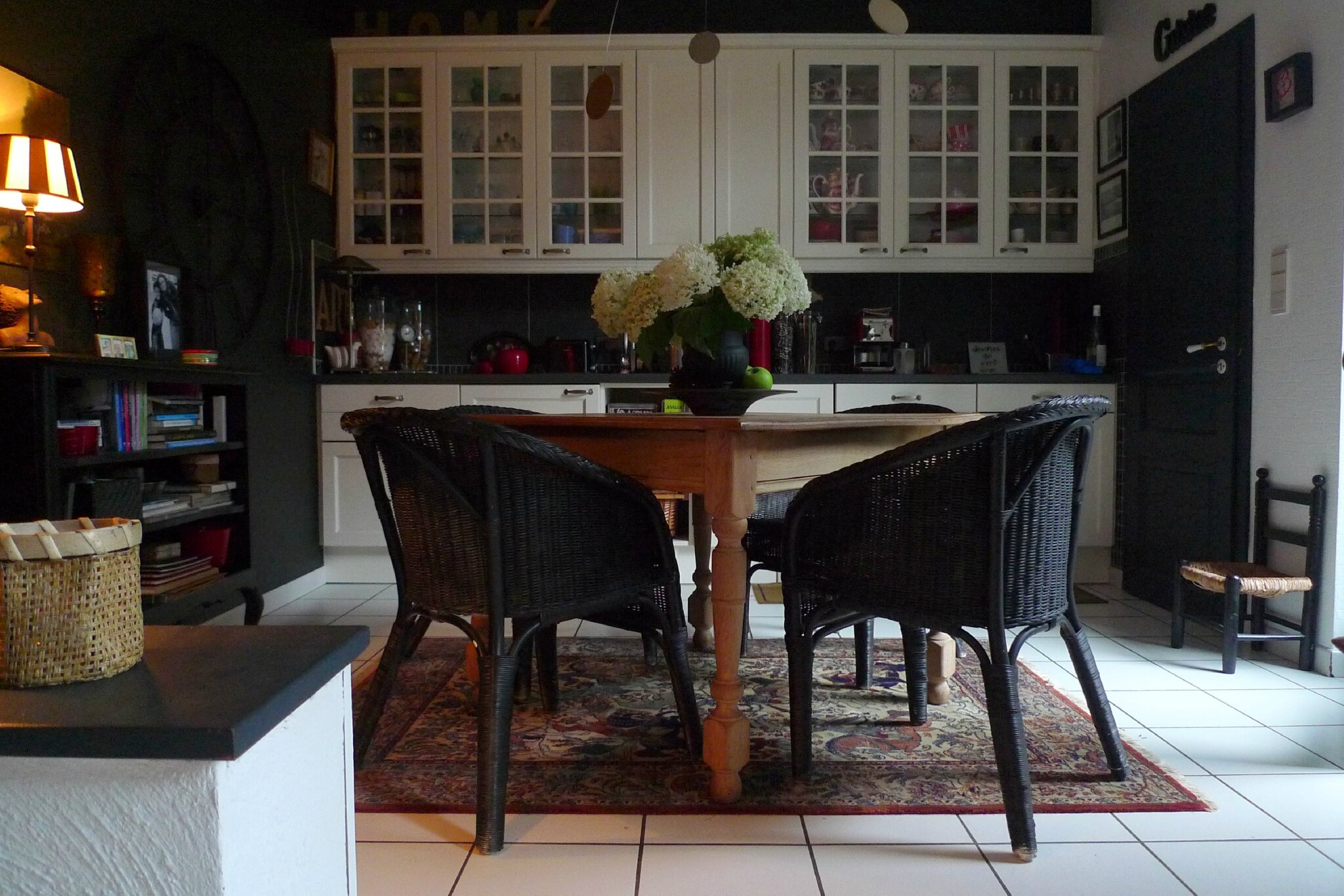 Chaises rotin bistrot images - Chaise de cuisine style bistrot ...