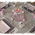 table rose poudrée 023