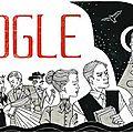 Google fête le 165e anniversaire de bram stoker, auteur de dracula