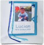 Protège carnet de santé personnalisé PHOTO LUCIAN