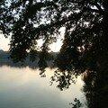 coucher de soleil sur l'étang_16
