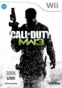 mw 3 wii cover