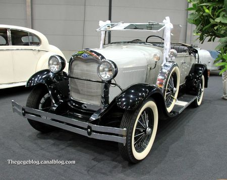 Ford Type A roadster (RegioMotoClassica 2011) 01