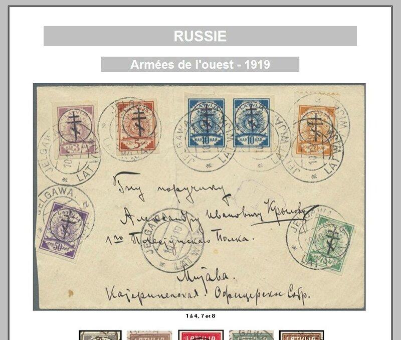 RUSSIE ARMEES OUEST
