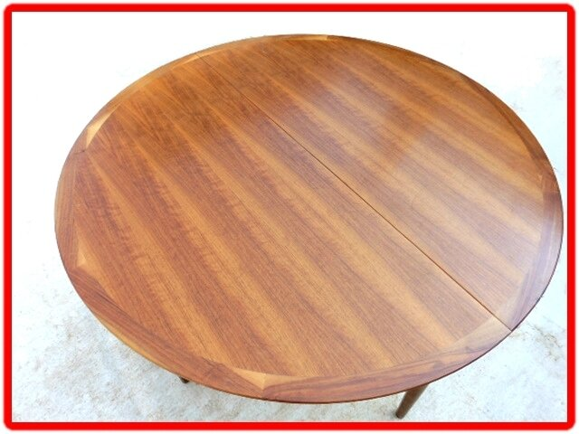 table design scandinave LUBKE 1960