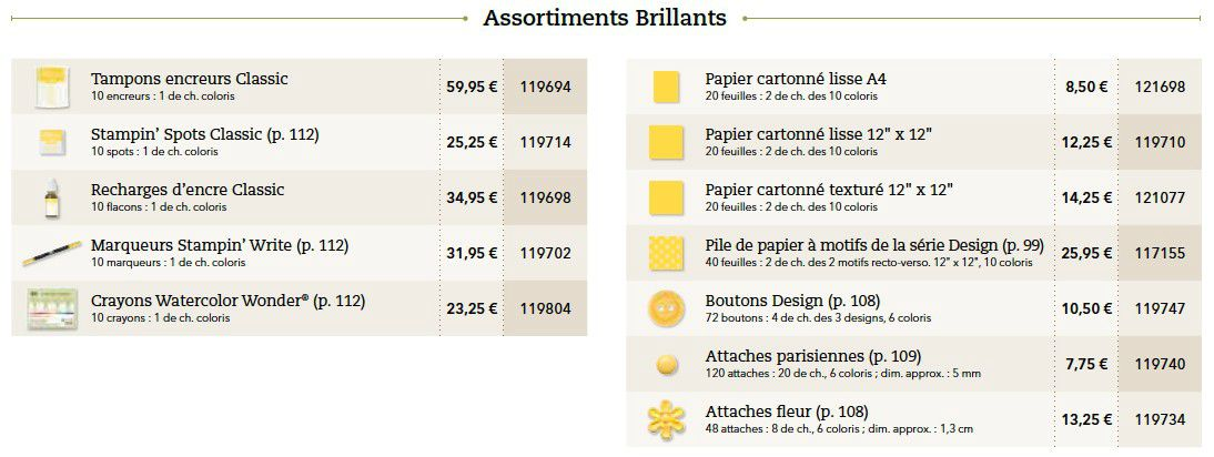 p091 brillants assortiment