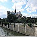 Notre Dame Vue du Pont de l'Archevêché
