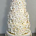 Wedding cake, nouvelle création de l'atelier des gourmandises
