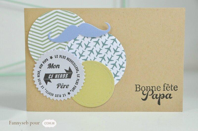carte 1 fête des pères fannyseb collection gary papiers COM16 SIGNATURE