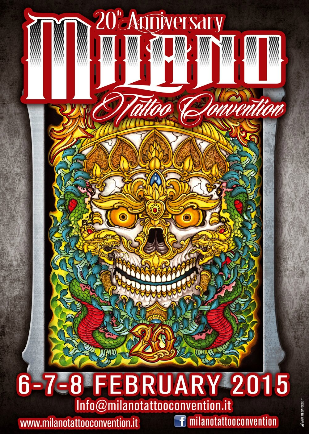 Milano Convention Tattoo actions 05 - 07 Février 2016