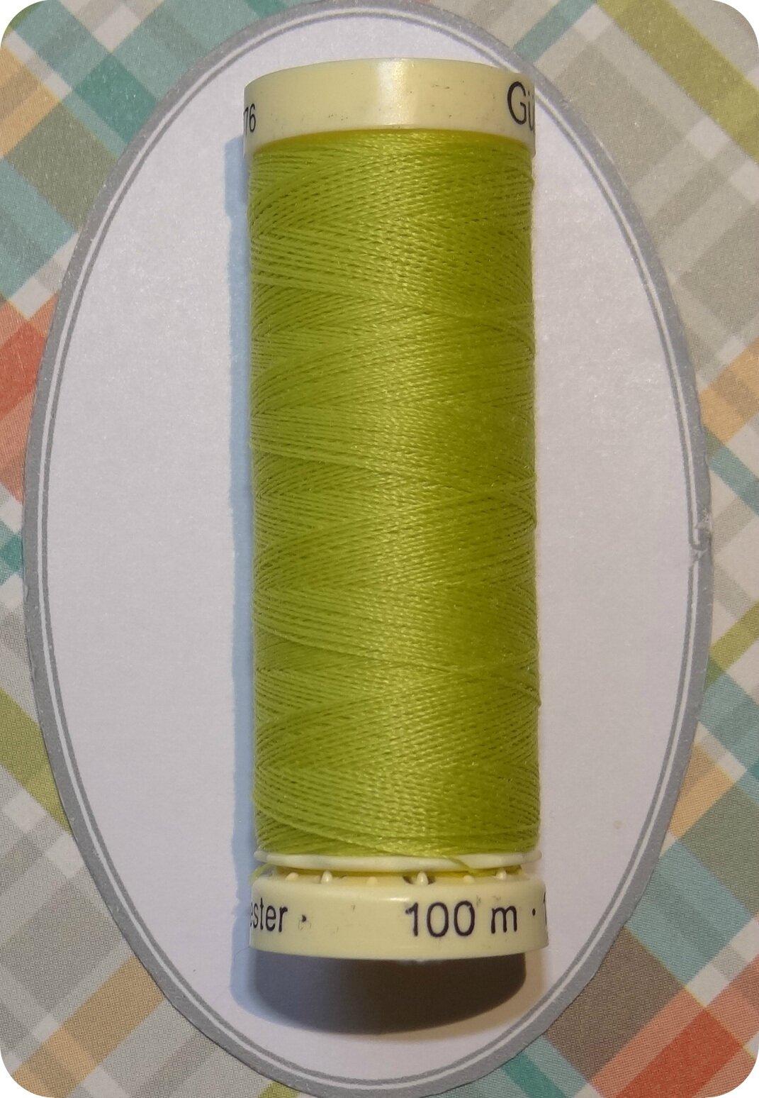 Fil couture vert anis gutermann photo de 5 fil couture for Fil de couture