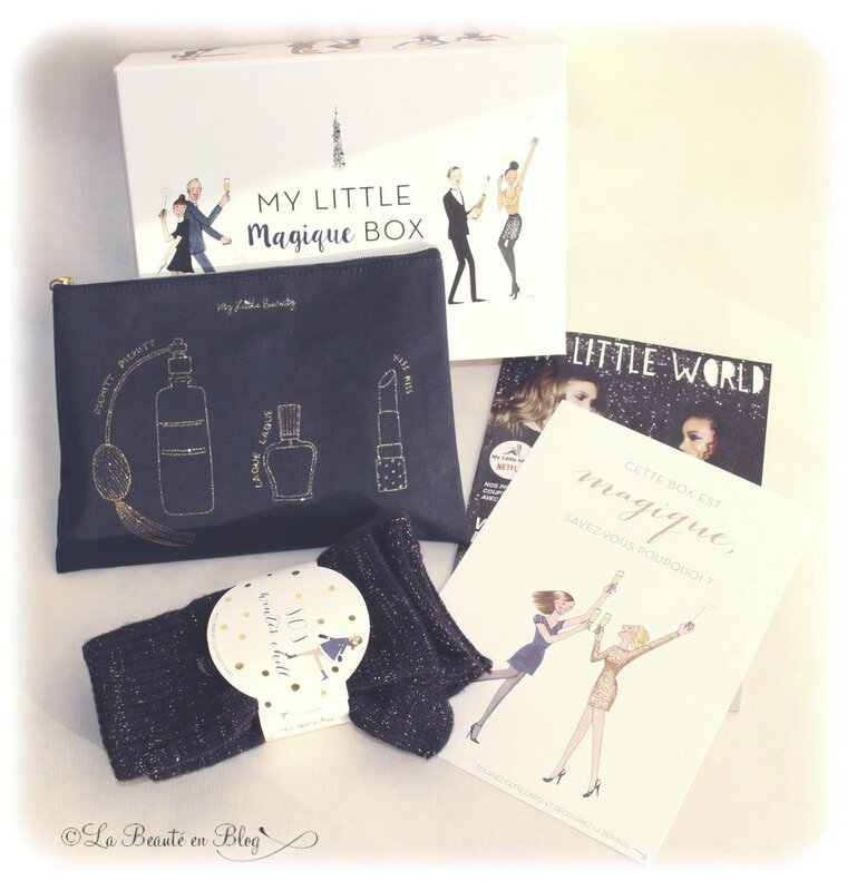 my little box décembre 2015 my little magique box contenu