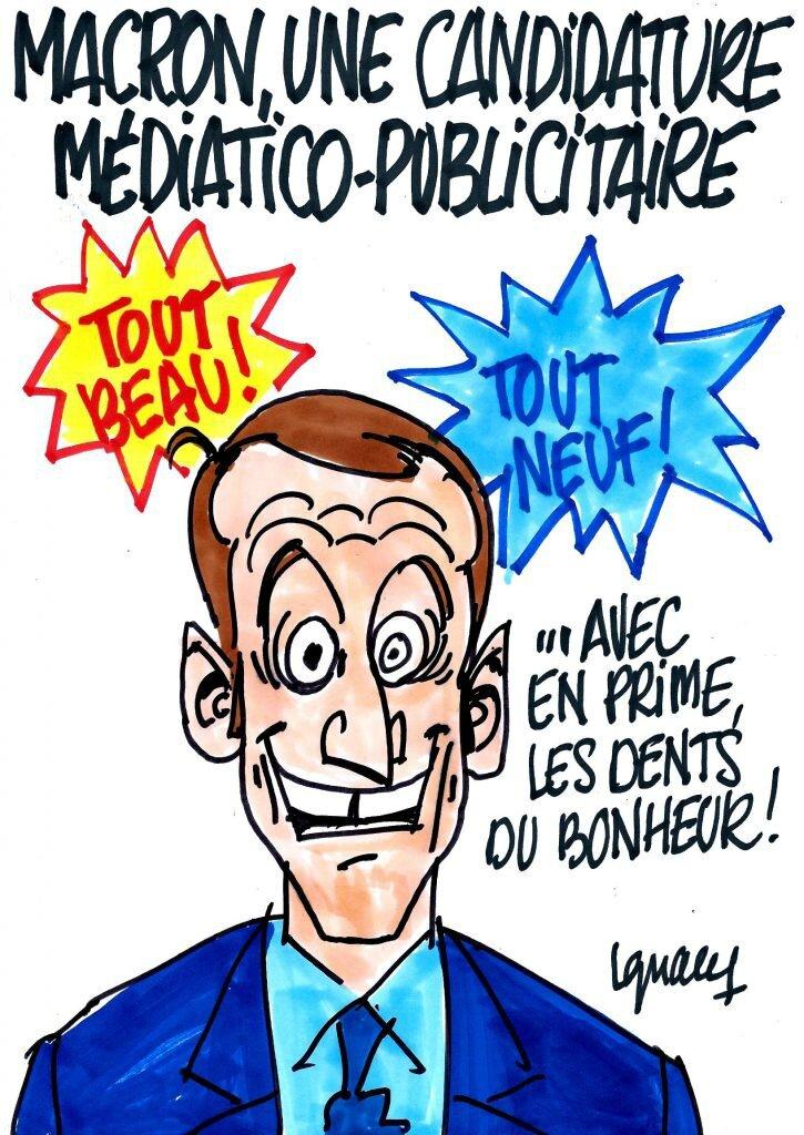 Et pendant ce temps, on parle assez peu des « frais de bouche » de M. Macron… Clip de Macron sur la manipulation de l'opinion !