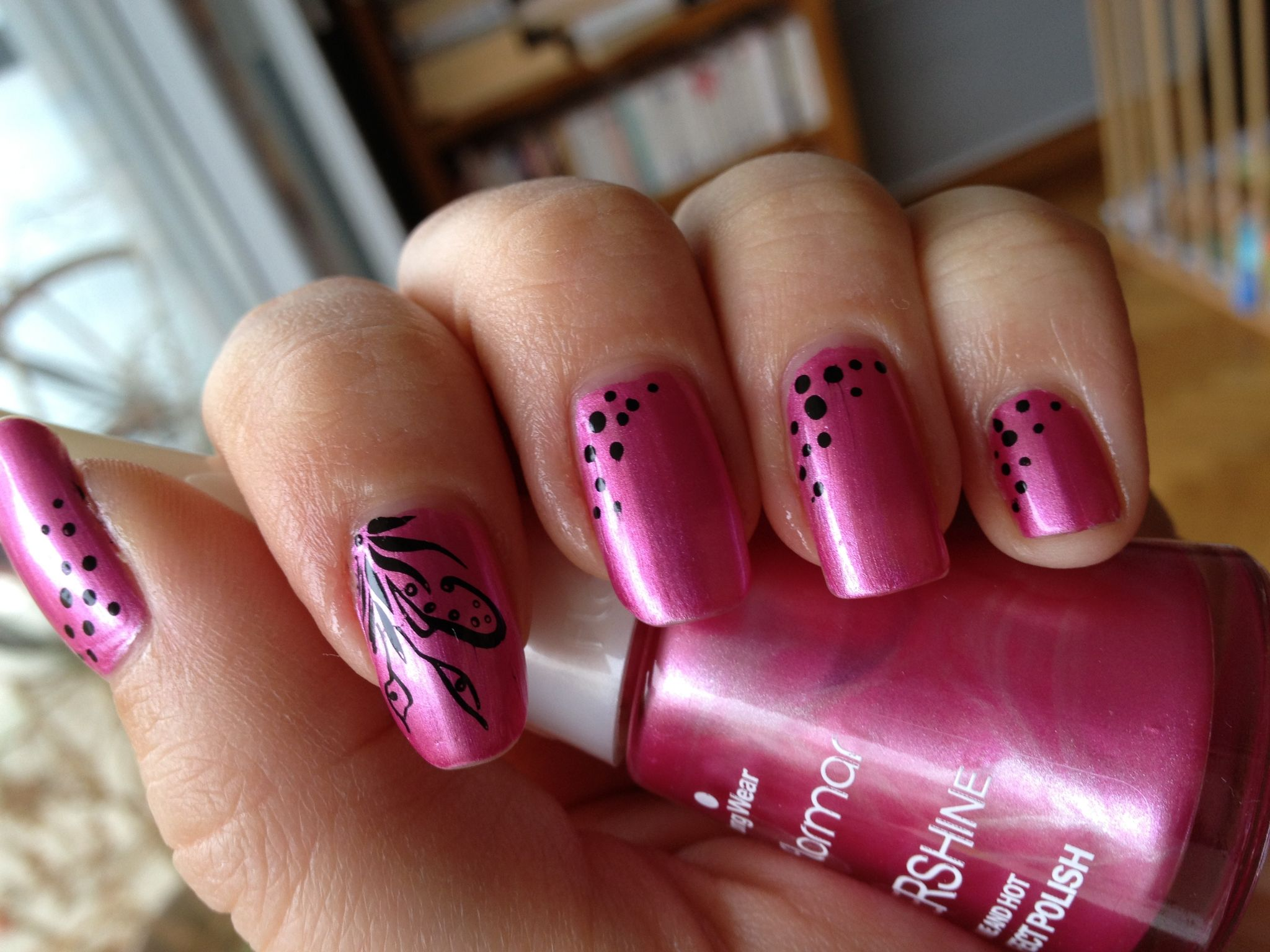 deco ongles stamping