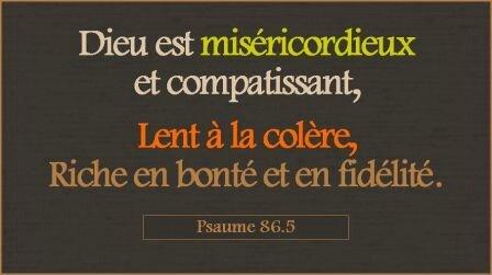 L-Eternel est misericordieux(13)